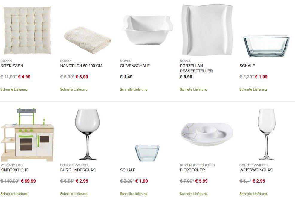 XXXLutz Online Shop mit 25€ Gutschein auf: Kochen, Essen, Accessoires & Baby ab 100€ MBW!
