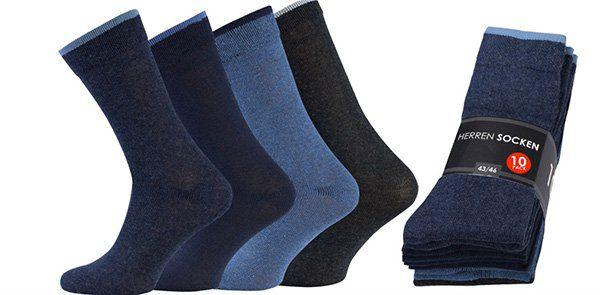10er Pack Sockshouse Herren Business Socken für 4,99€ (statt 15€)