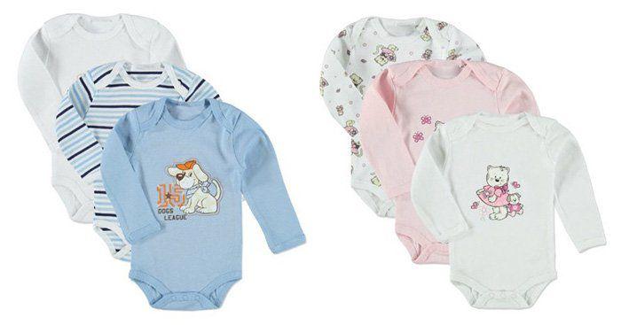 12er Pack pink or blue Baby Bodys für 23,96€   nur 1,99€pro Body