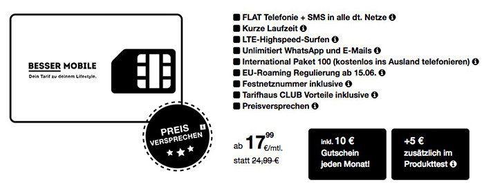 o2 Allnet Flat mit 1 4GB LTE ab 17,99€ mtl. + 12 Monate lang jeden Monat einen 15€ Gutschein   nur 6 Monate Laufzeit!