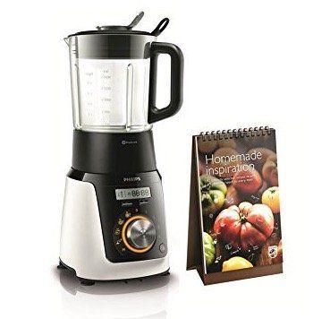 Philips HR2098/30 Standmixer mit Kochfunktion + Kochbuch für 76,49€ (statt 160€)