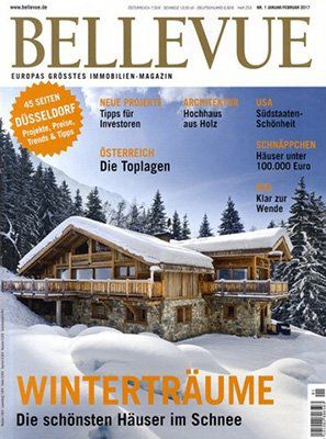 Bellevue Jahresabo mit 6 Ausgaben für 40,80€ + 30,80€ Verrechnungsscheck