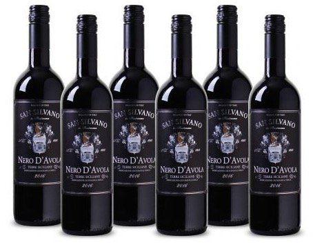 6 Flaschen Terre Siciliane IGT San Silvano Rotwein für 24,99€