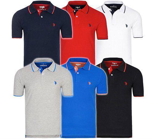 U.S. POLO ASSN. Herren Poloshirts für 19,99€ (statt 28€)