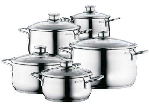 WMF Diadem Plus 5 teiliges Kochgeschirr Set für 99,99€