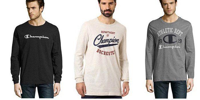 Champion Sale für die ganze Familie   z.B. Pullover mit Printmuster ab 11,90€ (statt 25€)
