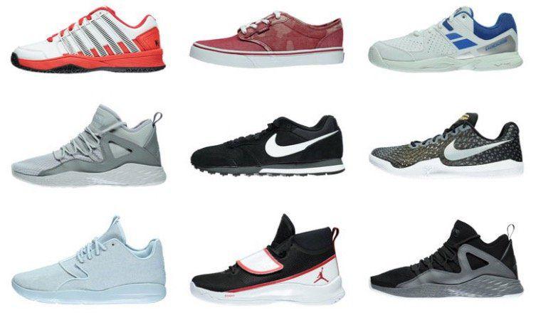 15% auf Sportschuhe + 5€ Gutschein   z.B. Nike Jordan Eclipse für 88,50€ (statt 107€)
