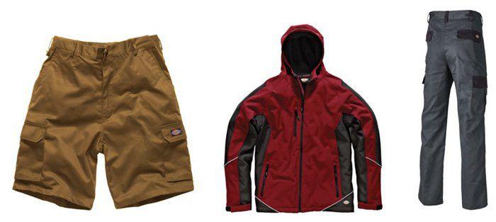Dickies Arbeitskleidung bis  49% reduziert   z.B. Redhawk Cargo Shorts für 18,80€ (statt 25€)