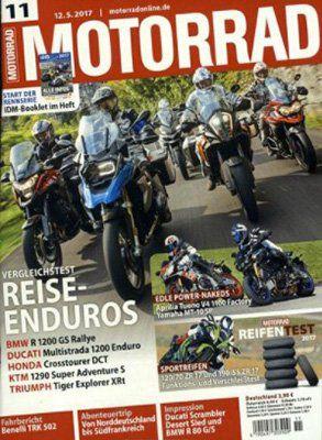 Jahresabo MOTORRAD für 107,90€ inkl. 75€ Verrechnungsscheck