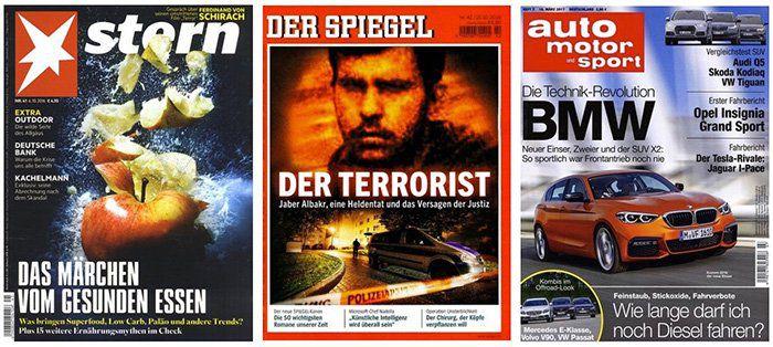 Gratis Zeitschriften Abos zum Vatertag + einmalig VSK   selbstauslaufend!