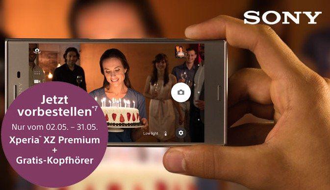Knaller! Telekom Magenta Mobil M + Sony Xperia XZ Premium + PS4 slim + Kopfhörer für 56,99€mtl.