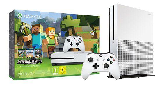 Xbox One S 500GB inkl. Minecraft für 189,99€ (statt 220€)