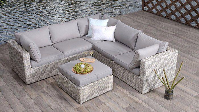 Garden Impressions Polyrattan Loungegruppe inkl. Schutzhülle für 899,96€ (statt 1.113€)