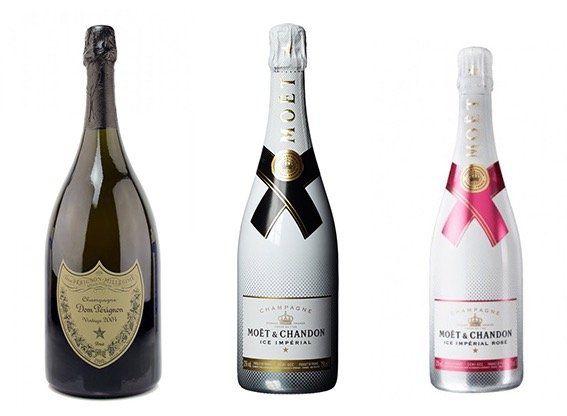 Moet und Dom Perignon Angebote   z.B. Moet & Chandon Nectar Impérial Rosé für 46,41€ (statt 59€)