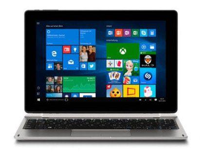 Medion Akoya E1239T   10 Zoll Full HD Tablet mit Tastatur für 229€ (statt 349€)