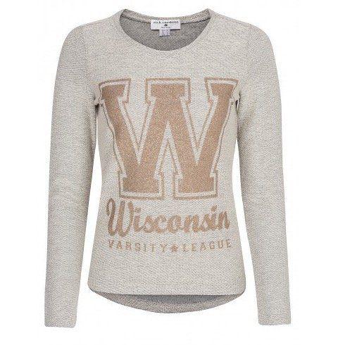 rick cardona Wisconsin Damen Pullover für 7,99€ (statt 25€)