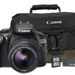 Canon EOS 1300D Spiegelreflex + 18-55mm Objektiv + Tasche + Speicherkarte für 299€ (statt 380€)