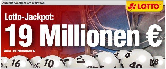 Lottobay 5€ Gutschein mit nur 5€ MBW   Lotto für 0,35€ spielen (19 Mio. Jackpot!)