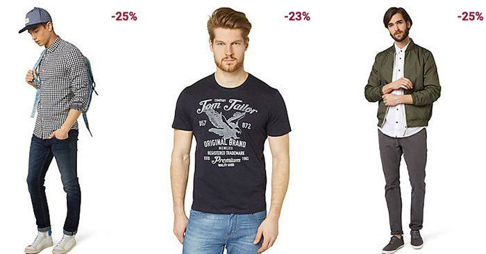Tom Tailor mit 25€ Rabatt auf ALLES ab 60€   auch im Sale