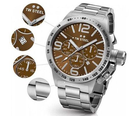 TW Steel CB23 Herren Armbanduhr für 149,95€ (statt 199€)