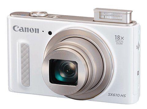 Canon PowerShot SX610 HS   Kompaktkamera mit 20,2 Megapixel und 18x Zoom für 141,99€ (statt 187€)