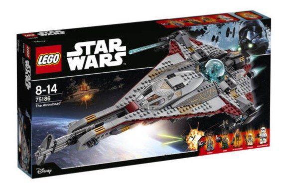Lego Star Wars   The Arrowhead 75186 für 58,49€ (statt 79€)