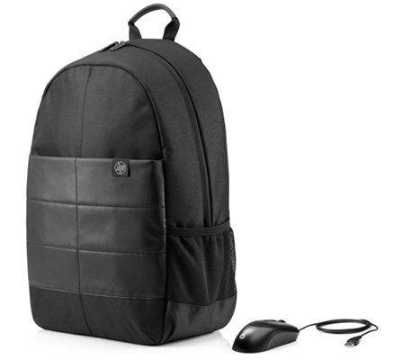 HP Rucksack für 15,6 Zoll Notebooks + Maus mit Kabel für 19,99€ (statt 34€)
