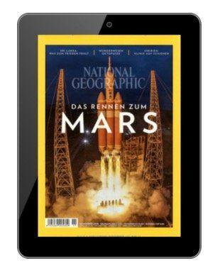 12 Ausgaben National Geographic E Paper für effektiv 9,96€