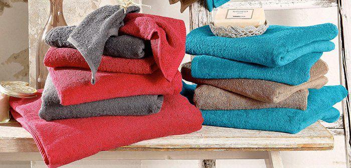 7 teiliges Handtuch Set Lisa aus reiner Baumwolle für 8,99€ (statt 26€)