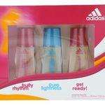 adidas Natural Spray Parfüm Damenduft Geschenkset (3×30 ml) für 4,99€ (statt 15€)