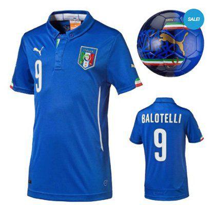 Italien Balotelli Kinder Trikot + Puma Fußball für 14,69€ (statt 28€)
