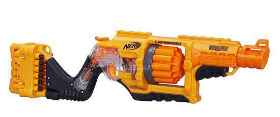 Wieder da! Nerf Doomlands Lawbringer Nerf Gun für 14,98€ (statt 24€)