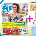 6 Ausgaben fit for fun für 19,80€ + 15€ Gutschein