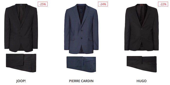 TOP! 15% Extra Rabatt im Peek & Cloppenburg* Sale   z.B. Hugo Boss Anzug nur 280€