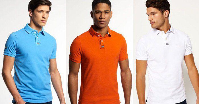 Superdry Herren Poloshirts   verschiedene Modelle für 21,95€