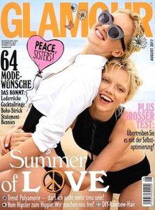 12 Ausgaben Glamour für 24,60€   Prämie: 25€ Verrechnungsscheck