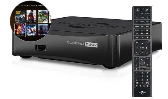 Dune HD Solo 4k Mediaplayer mit WLAN für 155,89€ (statt 344€)