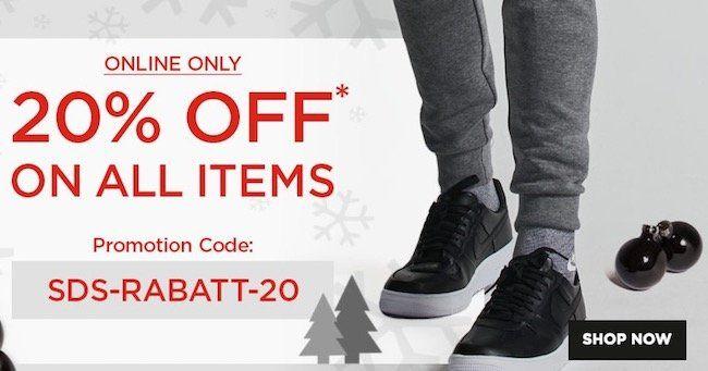 20% Sidestep Gutschein für das gesamte Sortiment + VSK frei ab 35€   günstige Sneaker von Nike, adidas & Co.