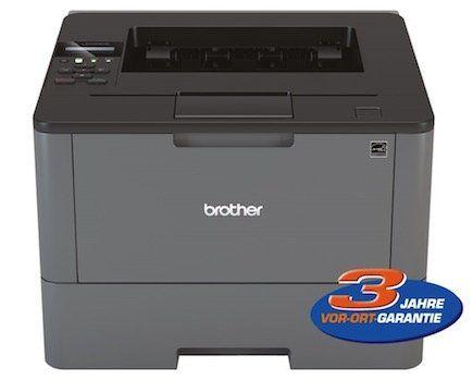 Brother HL L5200DW Laserdrucker (s/w, 40 Seiten/Min, WLAN, Duplex) für 149€ (statt 195€)