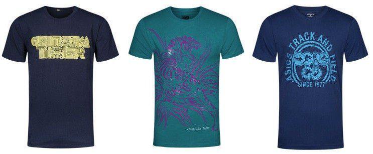 Div. Asics Tee Herren T Shirts für je 16,99€