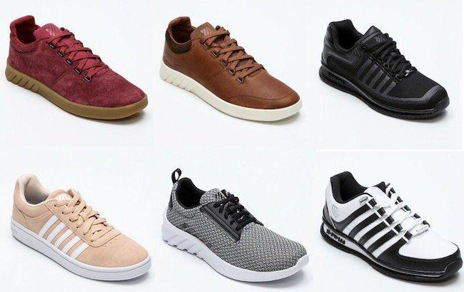 K Swiss Schuh Sale mit bis zu 65% Rabatt bei Vente Privee   z.B. K Swiss Aeronaut Sneaker für 25,99€ (statt 39€)