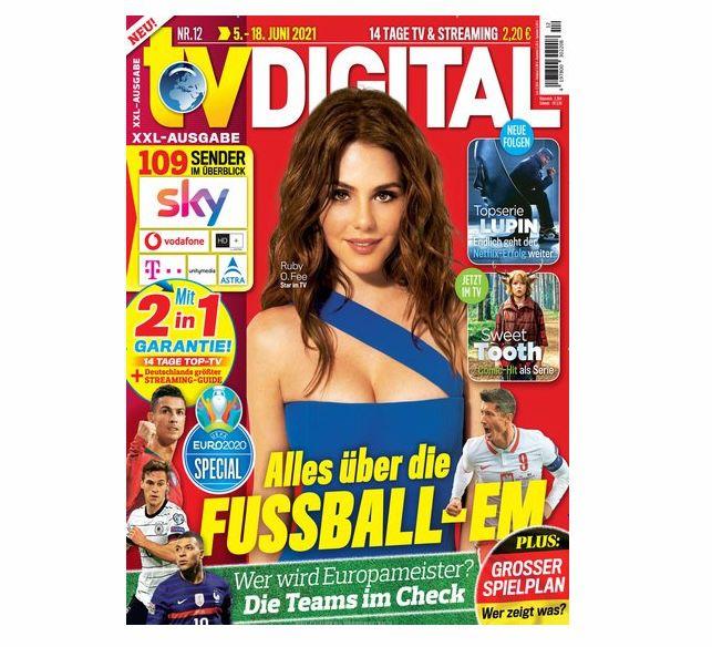 26 Ausgaben TV Digital XXL für 62,60€ + Prämie: bis 60€ Gutschein