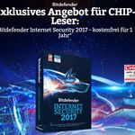 Bitdefender Internet Security 2017 1 Jahr gratis
