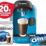 Bosch TASSIMO VIVY + 20€ Gutschein + Oreo TDisc + Kekse für 34,99€