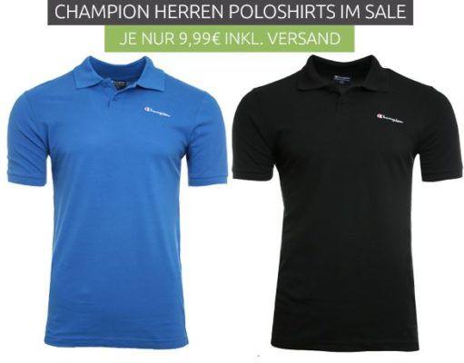 Champion Benz   Herren Poloshirts für je 9,99€ (statt 18€)