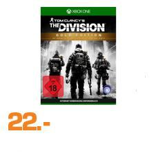 Saturn Late Night Shopping Übersicht   u.a.: Tom Clancy's: The Division – Gold Edition PS4 / XBox one Game für je 22€