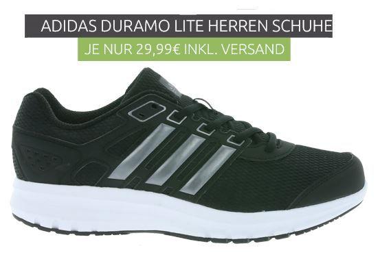 Adidas Duramo Lite und Duramo 8 Herren Sneaker für je 29,99€