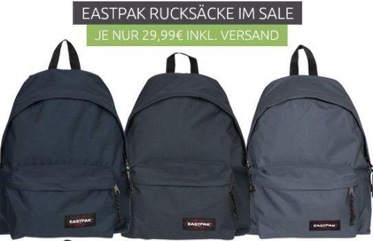 Eastpak   verschiedene Rucksäcke ab 24,99€