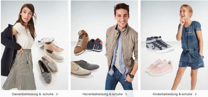 Galeria Kaufhof Feiertagsaktion: bis 20% Rabatt auf Damen, Herren und Kinderfashion + VSK frei