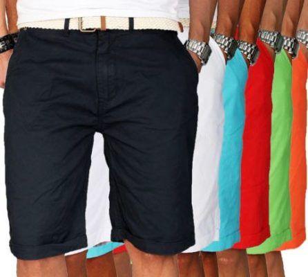 Geographical Norway Proud Herren Bermuda Shorts mit Gürtel für je 24,90€